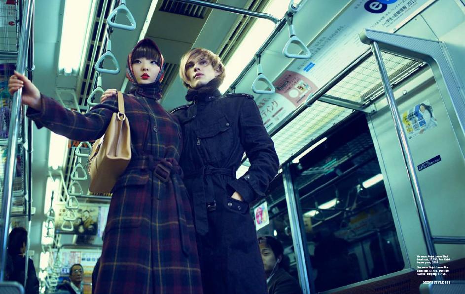 Men's style magazine (AU)  KEN YOSHIMURA HAIR