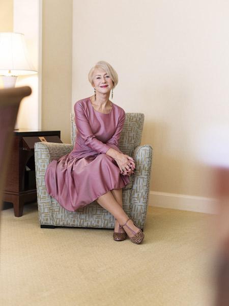 Helen Mirren  KEN YOSHIMURA HAIR