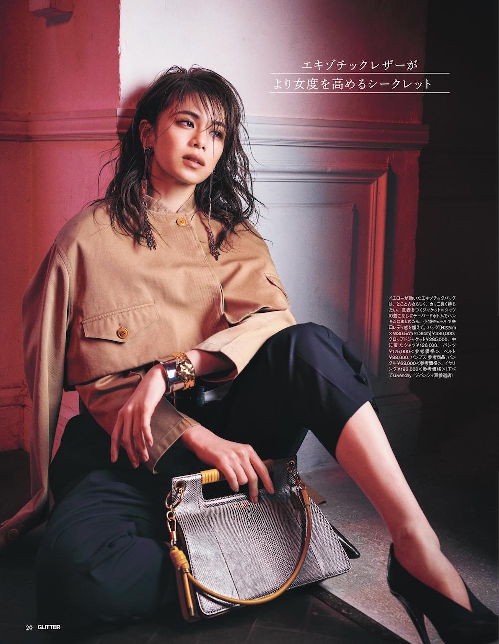 GLITTER – 佐藤晴美 × GIVENCHY  KEN YOSHIMURA HAIR