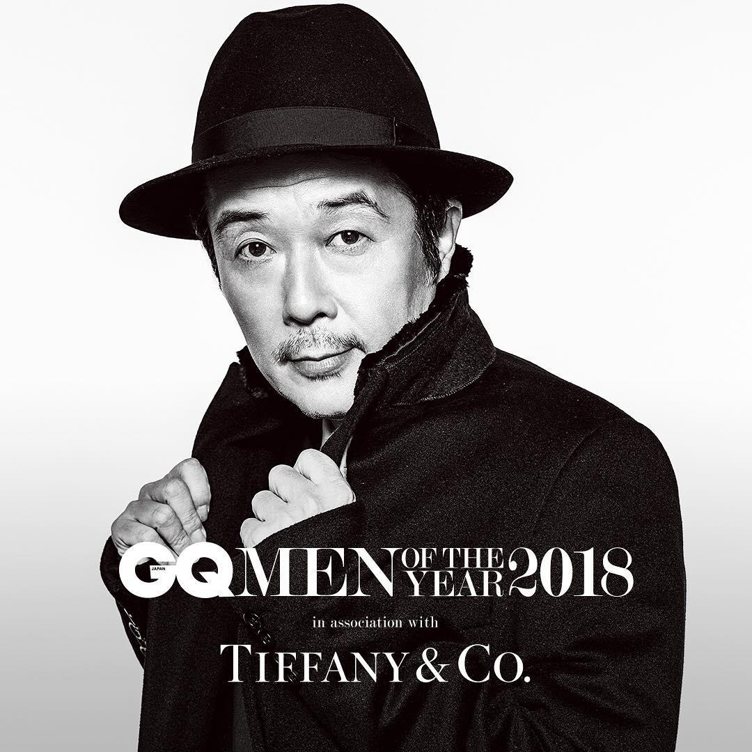 GQ Japan – リリー・フランキー  KEN YOSHIMURA HAIR