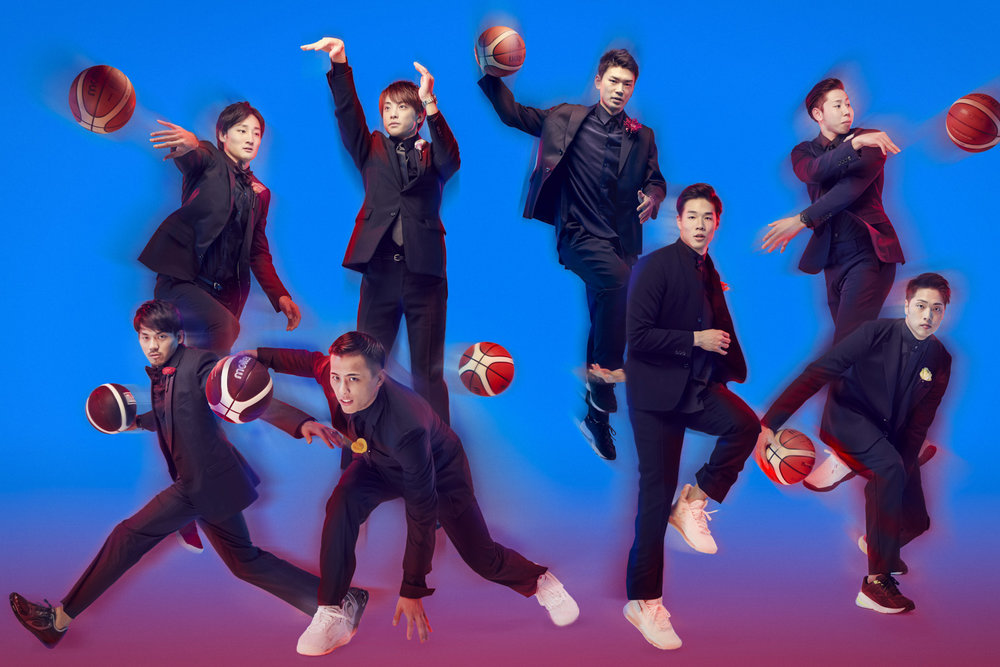 B.LEAGUE players 2019  KEN YOSHIMURA HAIR