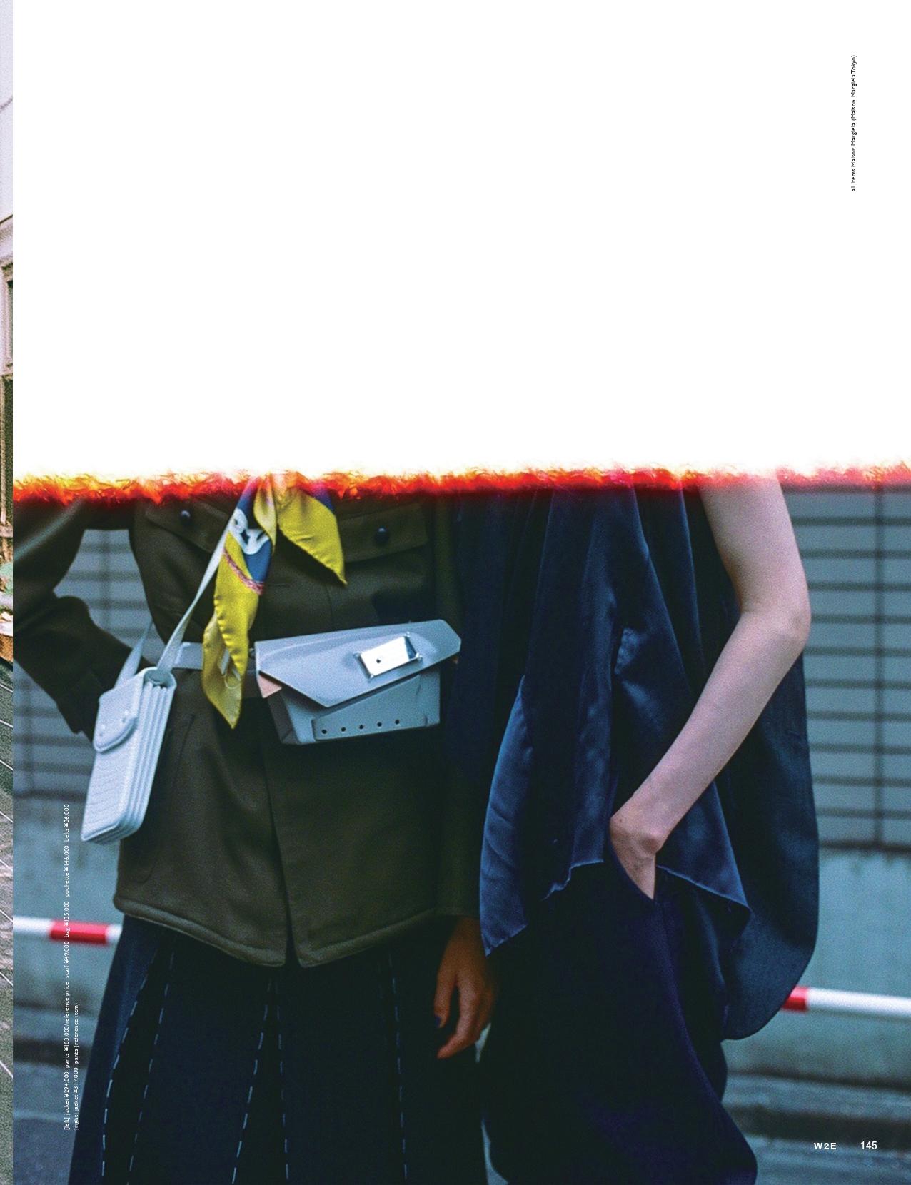 W2E magazine – Maison Margiela  KEN YOSHIMURA HAIR