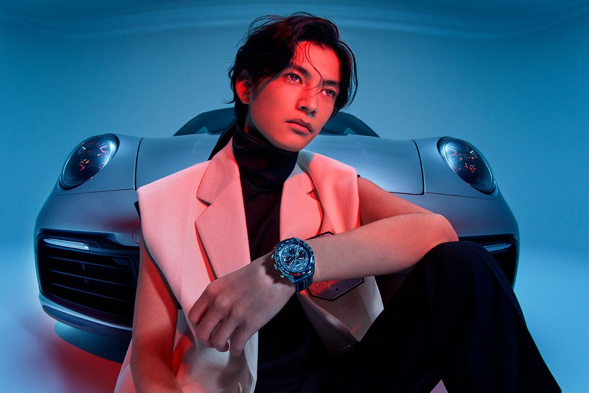 GQ Japan – 渡邊 圭祐 × TAG HEUER  KEN YOSHIMURA HAIR