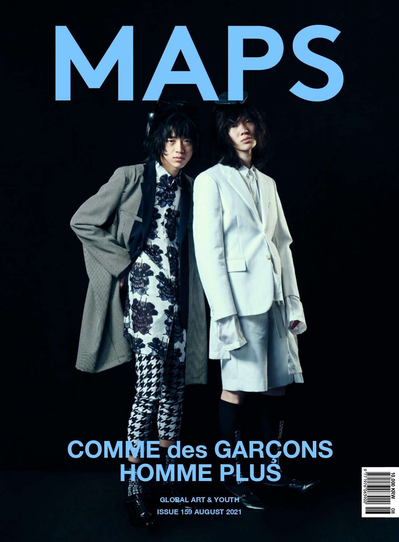 MAPS magazine – Comme des Garçons Homme Plus  KEN YOSHIMURA HAIR