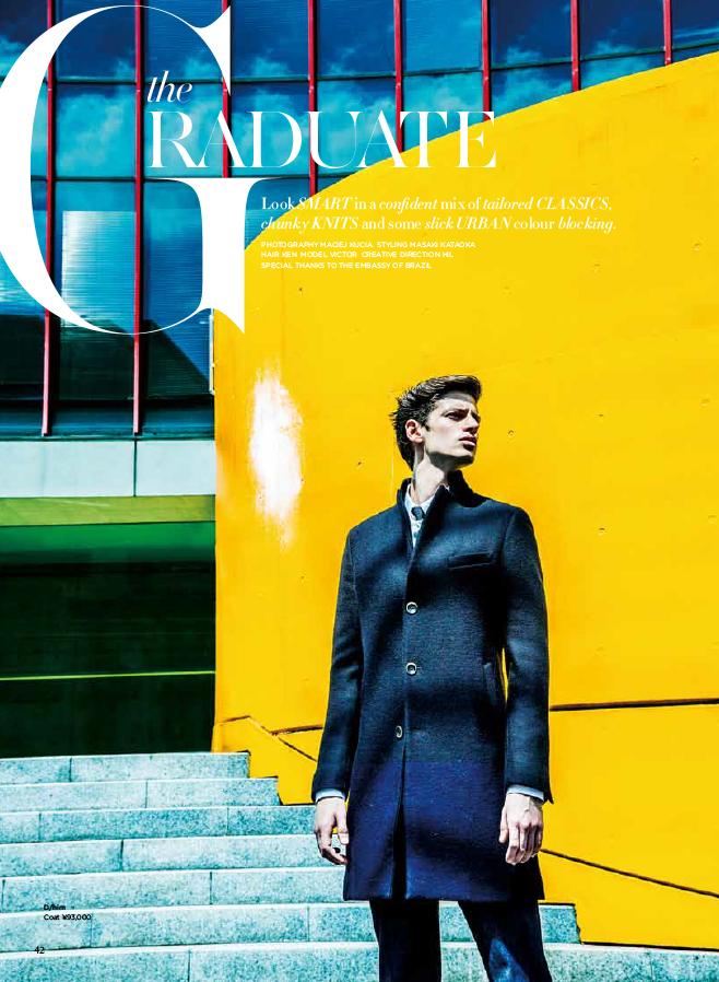 D style magazine  KEN YOSHIMURA HAIR