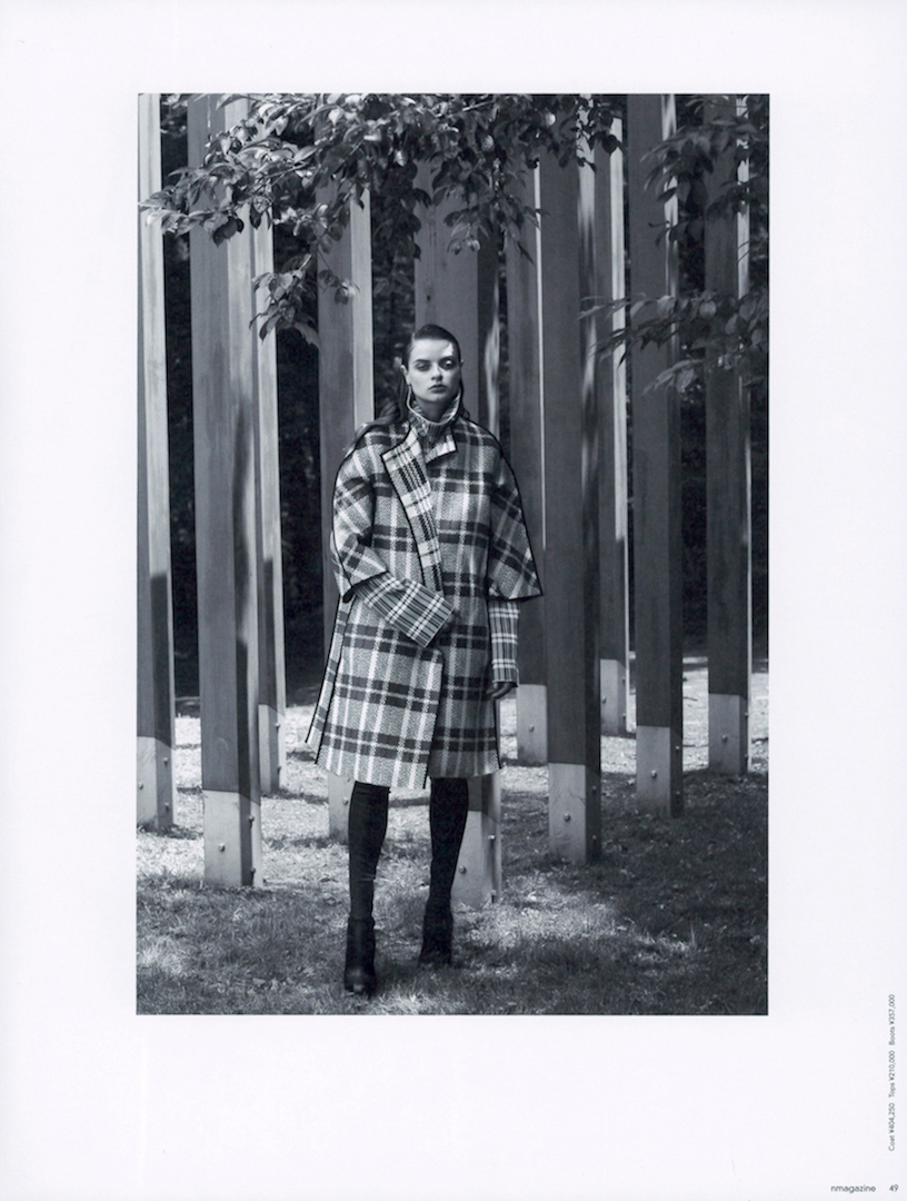 N magazine – CELINE  KEN YOSHIMURA HAIR