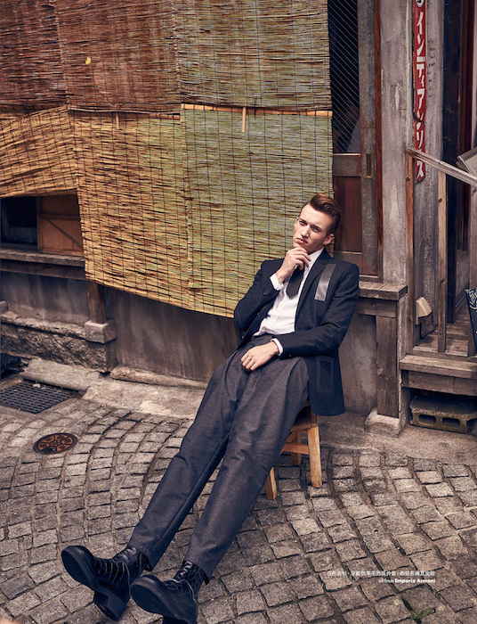 ELLE MEN Hong Kong  KEN YOSHIMURA HAIR