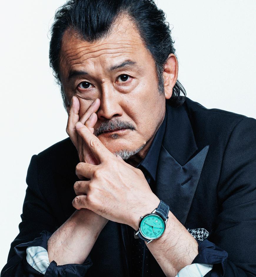 GQ Japan – 吉田鋼太郎  KEN YOSHIMURA HAIR