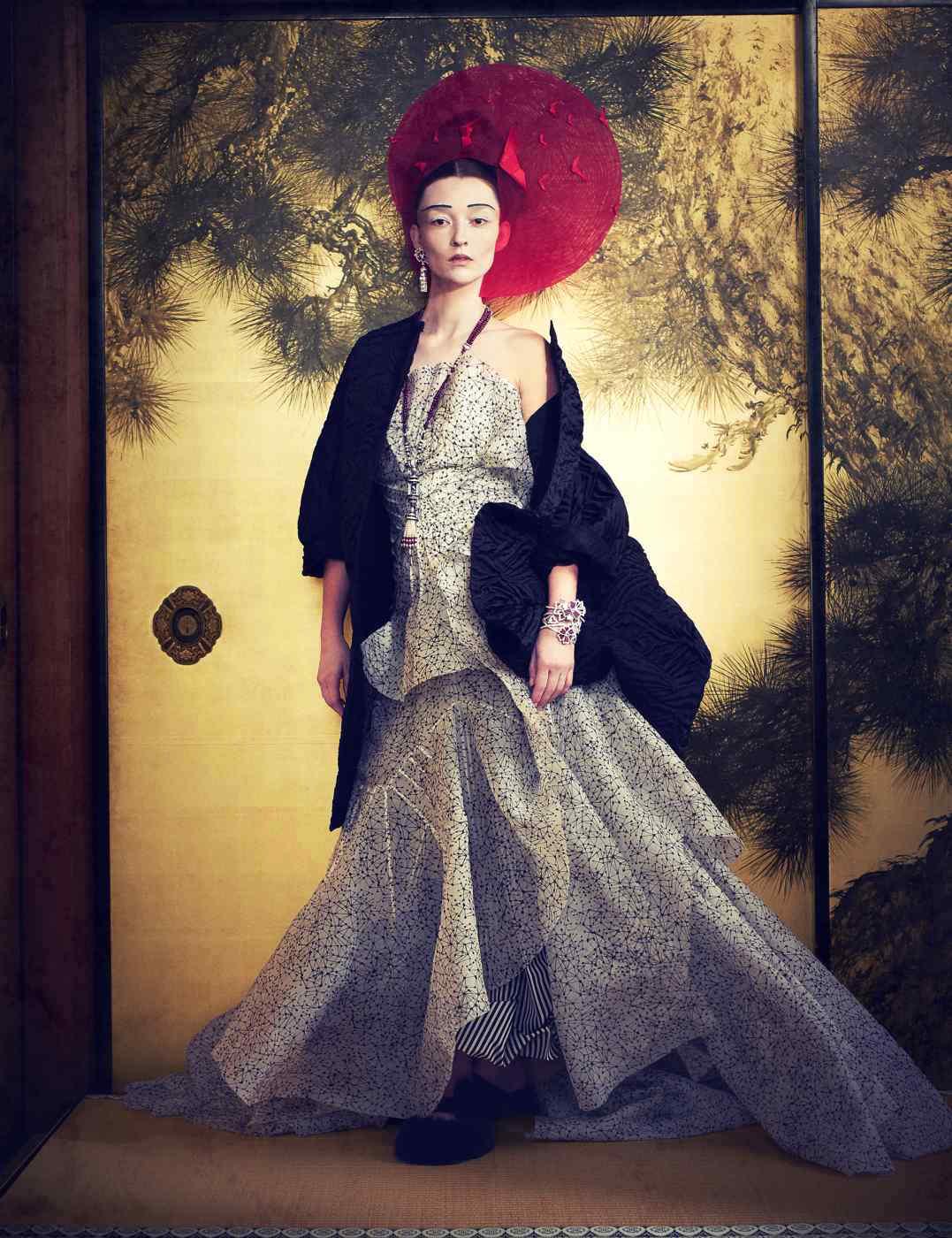 How to spend it – Audrey Marnay × Van Cleef & Arpels  KEN YOSHIMURA HAIR