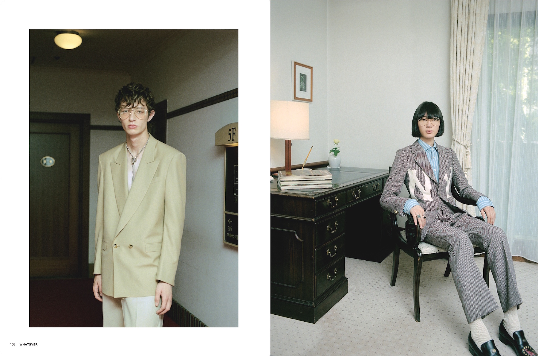 Whatever – GUCCI  KEN YOSHIMURA HAIR