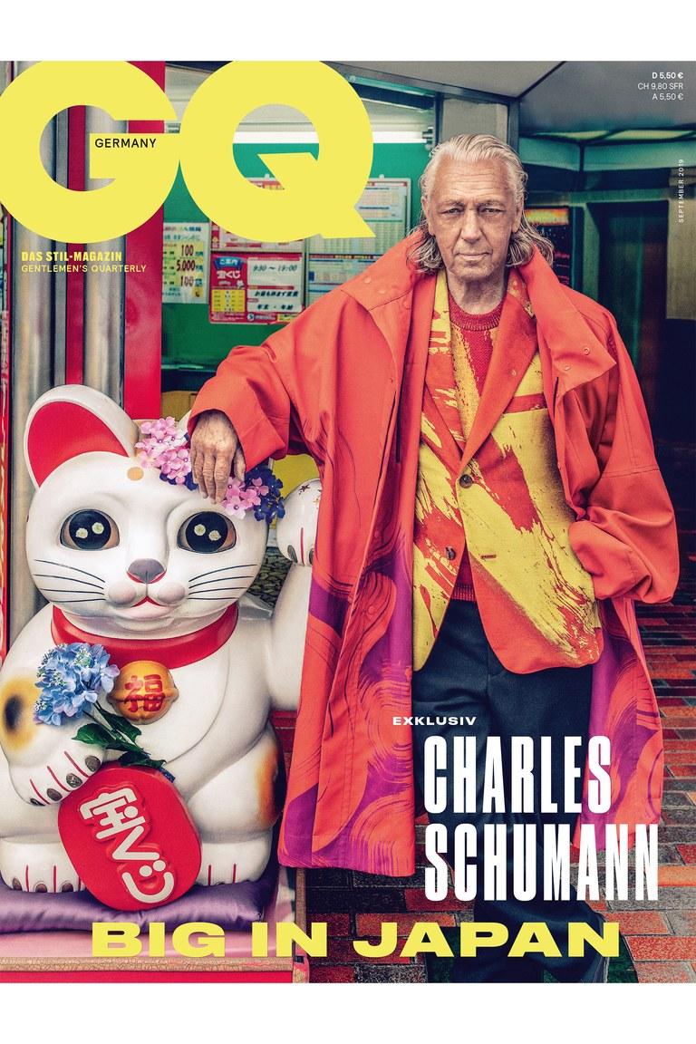 GQ Germany – Charles Schumann  KEN YOSHIMURA HAIR