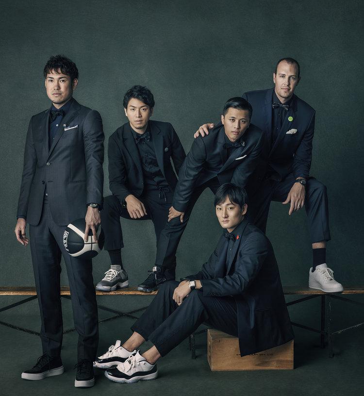 B.LEAGUE players 2018  KEN YOSHIMURA HAIR