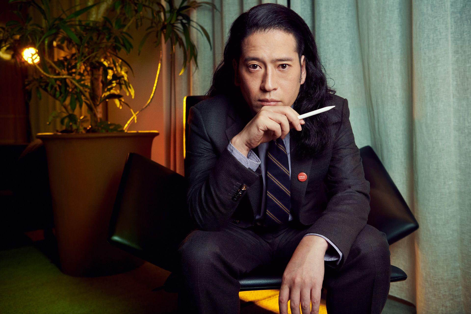 GQ Japan – 又吉直樹 × Giorgio Armani  KEN YOSHIMURA HAIR