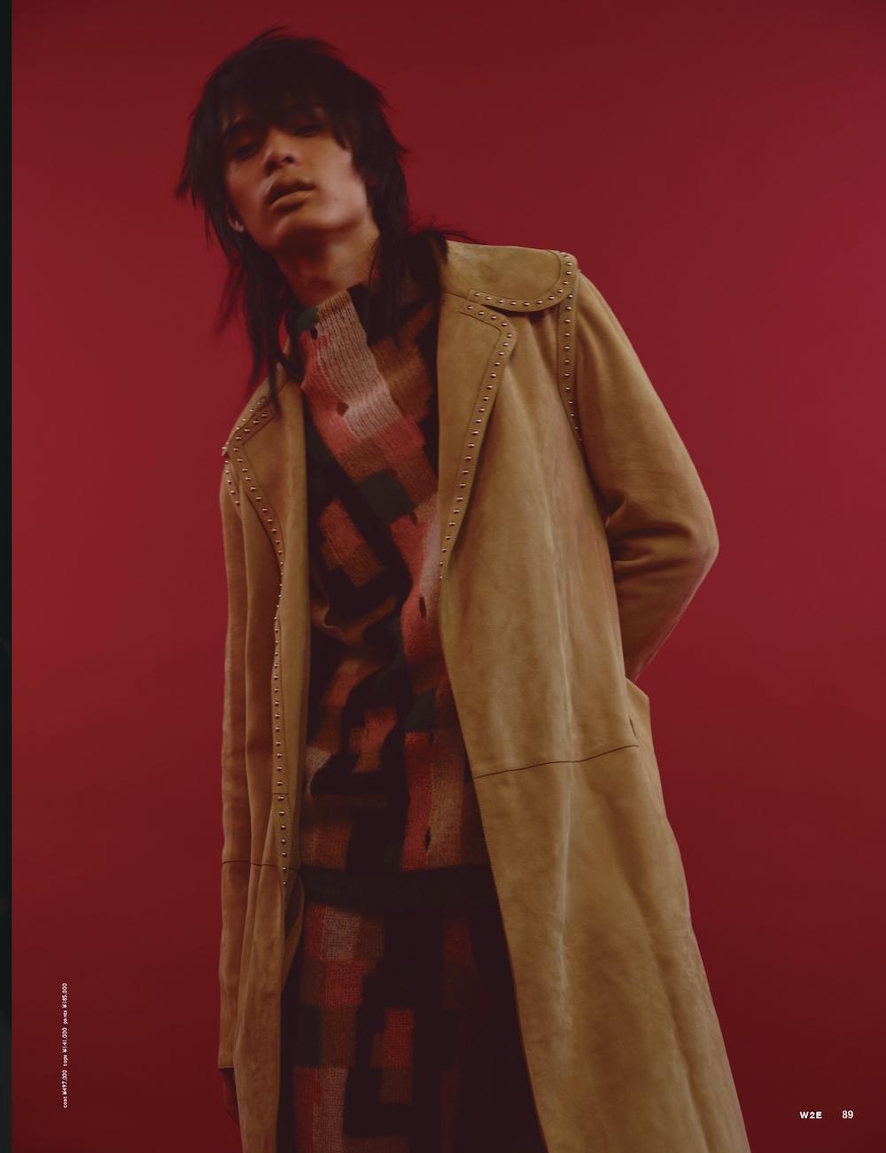 W2E magazine – LOEWE  KEN YOSHIMURA HAIR