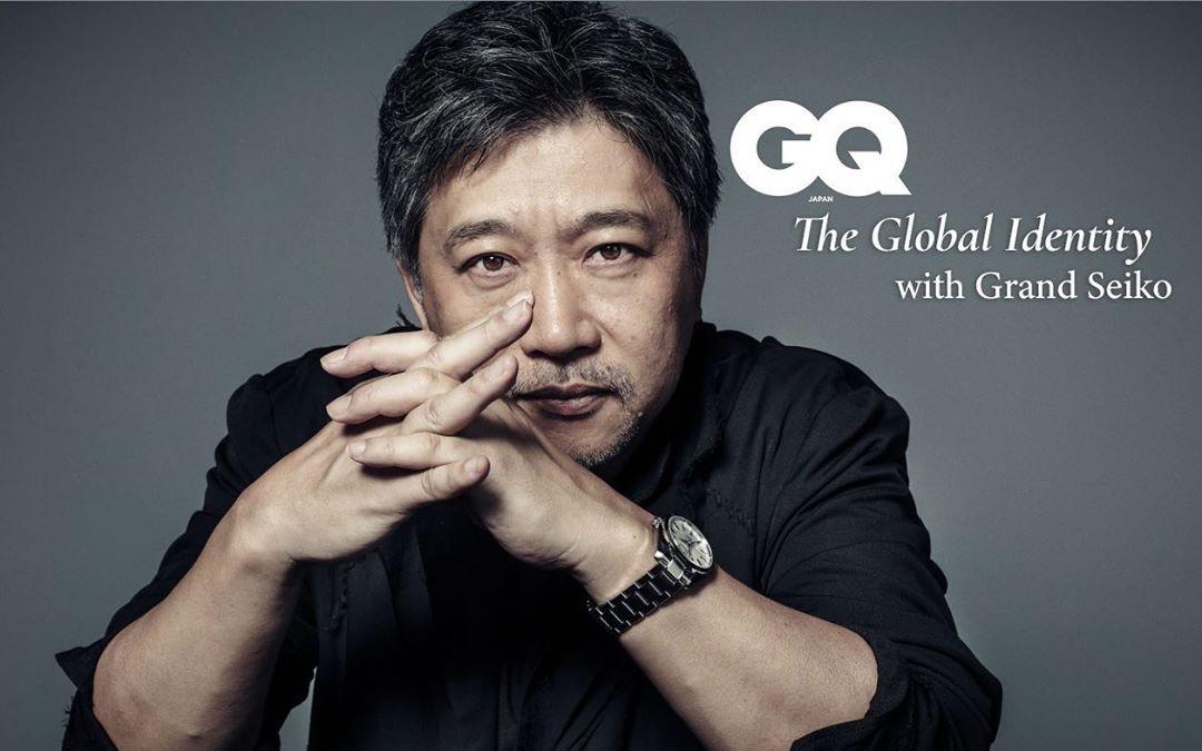 GQ Japan – 是枝裕和 × SEIKO  KEN YOSHIMURA HAIR