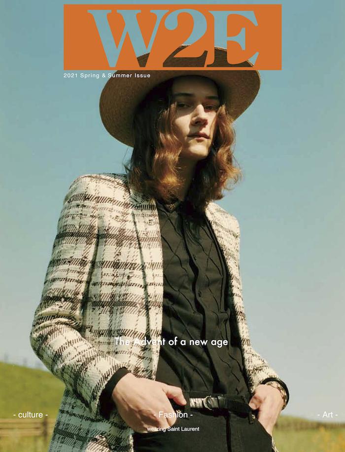 W2E magazine – SAINT LAURENT  KEN YOSHIMURA HAIR