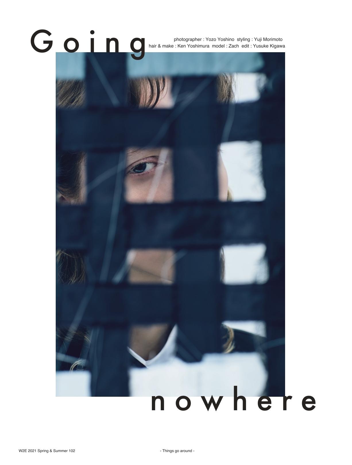 W2E magazine  KEN YOSHIMURA HAIR